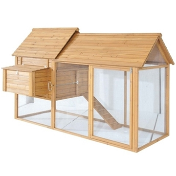 WINCHESTER CHICKEN COOP + FREE RUN - HOUSES 6-8 CHICKENS