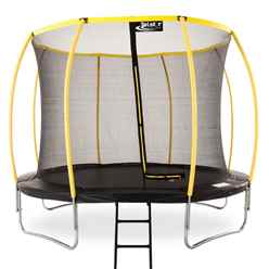 INSTALLED 10ft Telstar Orbit Trampoline And Enclosure Package With FREE Ladder - INCLUDES INSTALLATION
