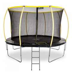 INSTALLED 12ft Telstar Orbit Trampoline And Enclosure Package With FREE Ladder - INCLUDES INSTALLATION