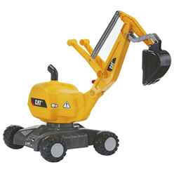 CAT Digger with Wheels - FREE 24HR DELIVERY